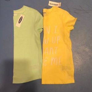 Old Navy Tops! 4T